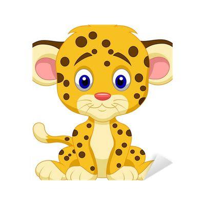 Fliesenaufkleber Leopard by Aufkleber Baby Leopard Pixers 174 Wir Leben Um