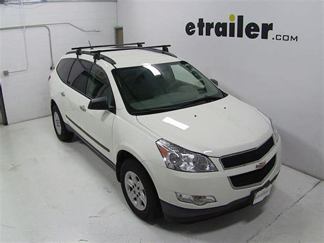 traverse roof rack 2011 chevrolet traverse roof rack side and cross rail