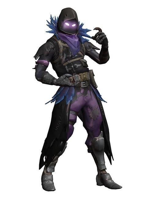 mmd fortnite raven quill  arisumatio dd