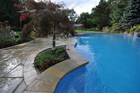 swimming pool coping pool coping swimming pools stone coping in east patchogue ny 11772 deck and patio natural