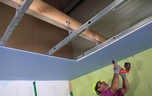 Pose De Faux Plafond : tout savoir sur le faux plafond en ba13 ~ Premium-room.com Idées de Décoration
