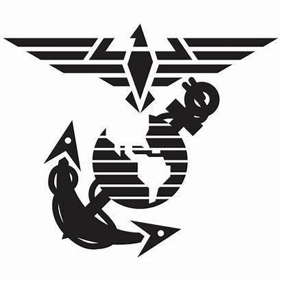 Marine Corps Clipart Anchor Eagle Globe Ega