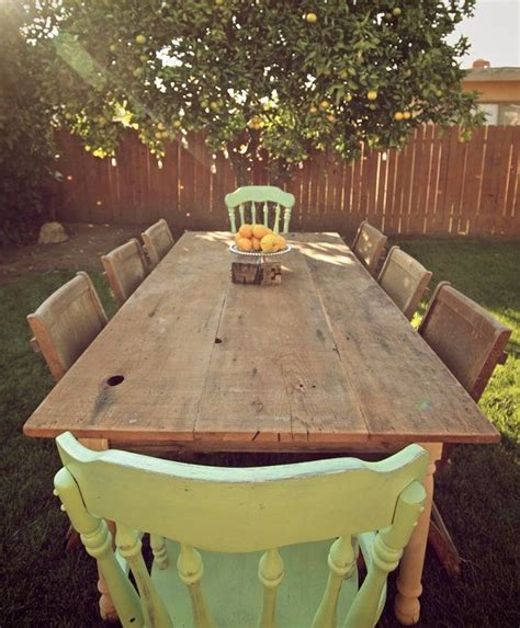 images  large farmhouse table  pinterest