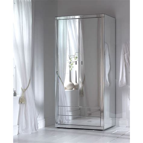 White Wardrobe With Mirror by 15 Best Cheap Wardrobes With Mirrors