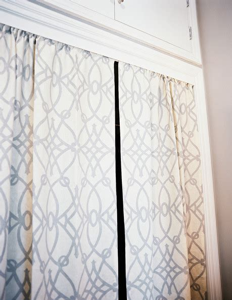White And Gray Curtains by Closet Curtain Photos Design Ideas Remodel And Decor