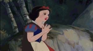 GIF: Snow White Runs Away   Gifrific