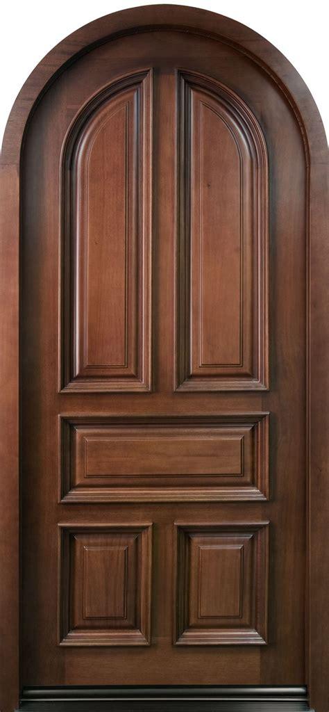 wood entry door front door custom single solid wood with mahogany