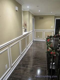 shadow box wainscoting traditional  metro