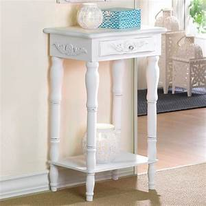 Tall, Accent, Table, A, Stylish, Item, For, Utilizing, The, Empty, Space, U2013, Homesfeed