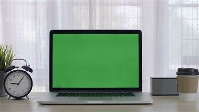 Screen Computer Laptop Office Space Cozy 4k