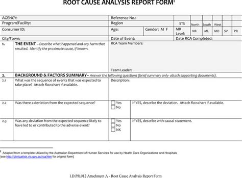 root  analysis templates word excel powerpoint