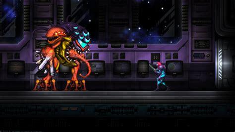 Metroid Fusion Final Boss Wide By Billysan291 On Deviantart