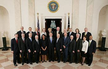 Bush Administration Cabinet by Cabinet Of The United States The Free
