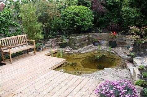 Terrasse Am Teich by Terrasse Mit Teich Nowaday Garden