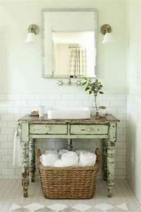 Meuble Salle De Bain Diy : meuble salle de bains pas cher 30 projets diy d corations shabby chic bedrooms rustic ~ Melissatoandfro.com Idées de Décoration