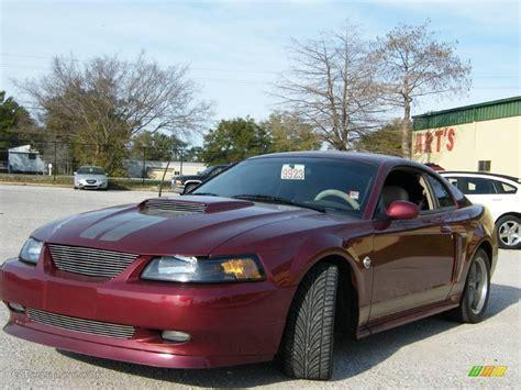 anniversary crimson red metallic ford mustang gt