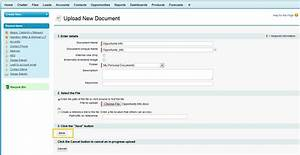 Add word document link to sidebar salesforce dev admin for Documents in salesforce