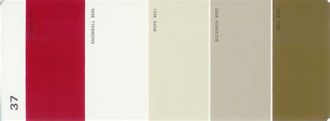 martha stewart paint 5 color palette card 37 thelandofcolor