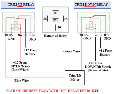 Dtdp Switch Wiring Diagram For Rocker by Troubleshooting Testing And Bypassing Spdt Power Trim