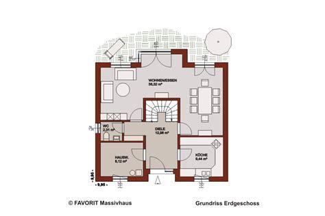 Grundriss Mit Treppe In Der Mitte by Select 134 Das Haus Mit Sonnenecke Bauunternehmer Schob
