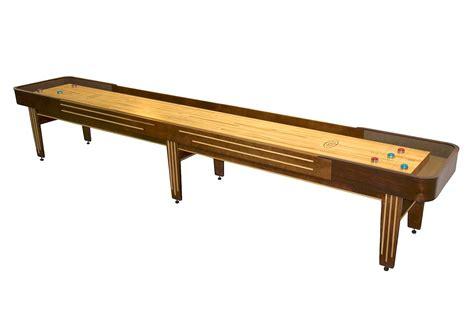 16 foot shuffleboard table 16 foot tournament ii deluxe shuffleboard table mcclure