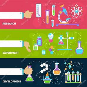 Chemistry Design Banners  U2014 Stock Vector  U00a9 Macrovector  58332303