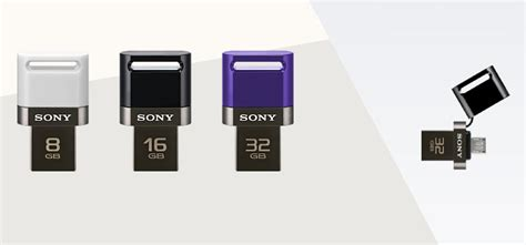 flash for android sony to launch dual usb flash drive for android smartphone
