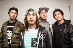 Pierce The Ceil by Sleeping With Sirens And Pierce The Veil Announce 2014