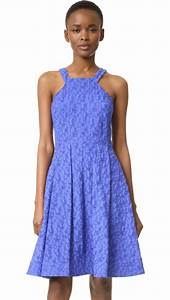 fit and flare dresses on trend for fall wedding guest season With fit and flare wedding guest dress