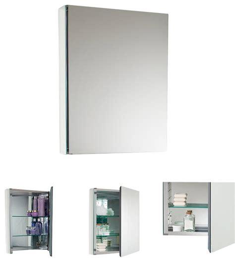fresca small bathroom medicine cabinet w mirrors modern