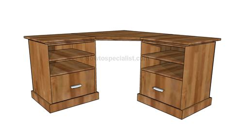 how to make a corner desk how to build a small desk howtospecialist how to build
