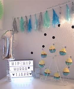 Deko Geburtstag 1 : der 1 geburtstag von meinem baby ~ Markanthonyermac.com Haus und Dekorationen