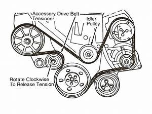 2003 Trailblazer Serpentine Belt Diagram