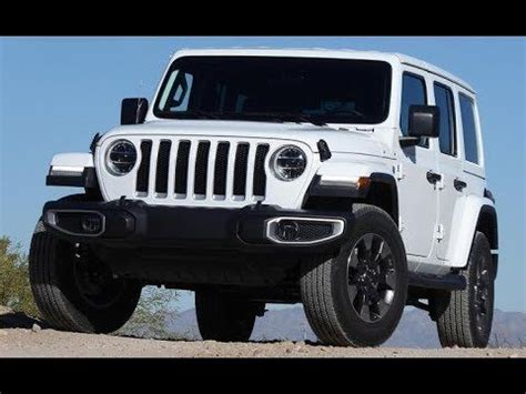 2019 Jeep Wrangler Auto Show by 2019 Jeep Wrangler White New Version Washington Dc Auto