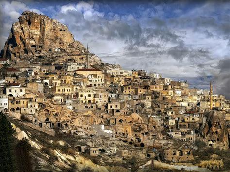 Rocky Goreme Valley Turkey World For Travel