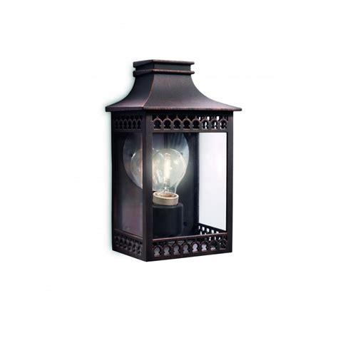 162358616 hedge wall lantern rust 1x60w 230v