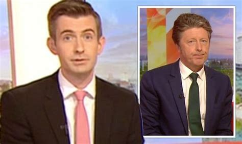 Charlie Stayt replaced as Ben Thompson steps in to host ...