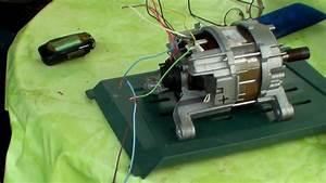Drehzahlregelung 230v Motor Mit Kondensator : waschmaschinenmotor anschlie en youtube ~ Yasmunasinghe.com Haus und Dekorationen