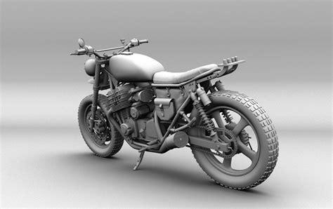 The Walking Dead Dryal Dixon Bike 3d Model Obj Ma Mb