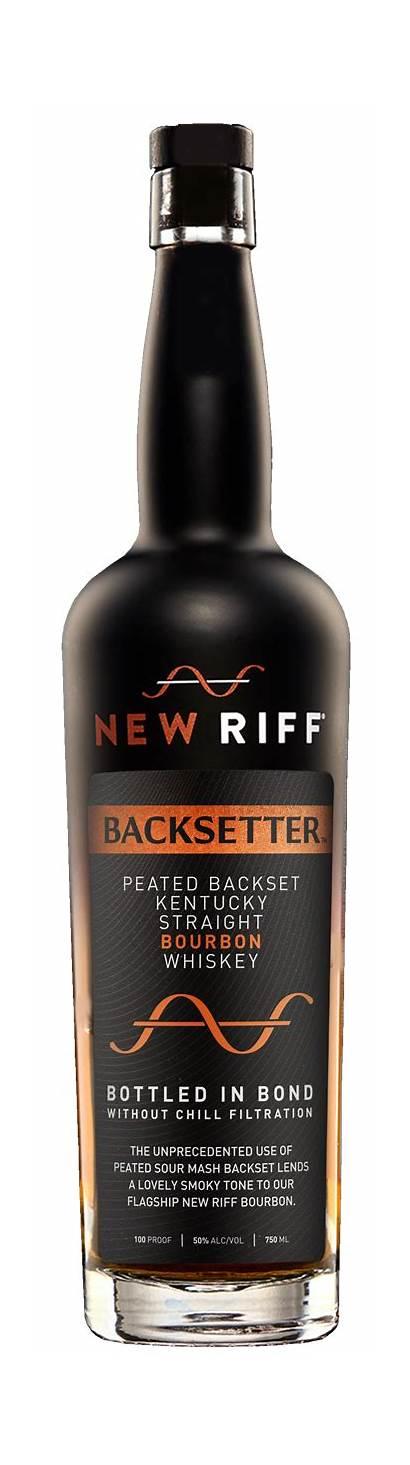 Bourbon Riff Rye Bond Whiskey Bottled Distillery