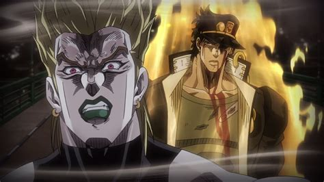 No Jojo Part Is Bad In My Opinion Sure There Are Some Better Then Others But Ive Never Disliked It Or Been Put By Many This Anime Reaction Stardust Crusaders Episode 48