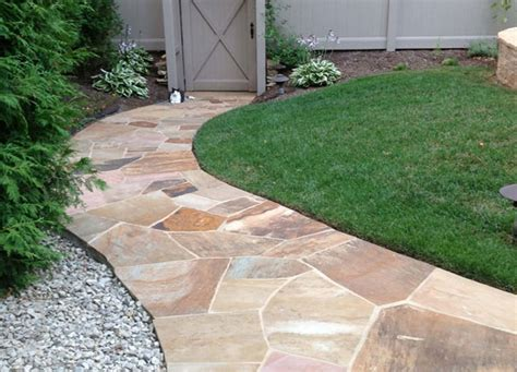 cost to install flagstone flagstone curley stone company inc
