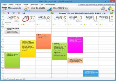 organisateur de bureau windows télécharger persoapps organiseur pour windows shareware