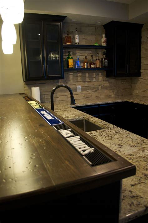 Bar With Granite Top - 17 best images about basement bar inspiration on