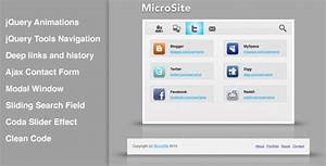 microsite clean and smooth micro template by kohan With microsite templates free