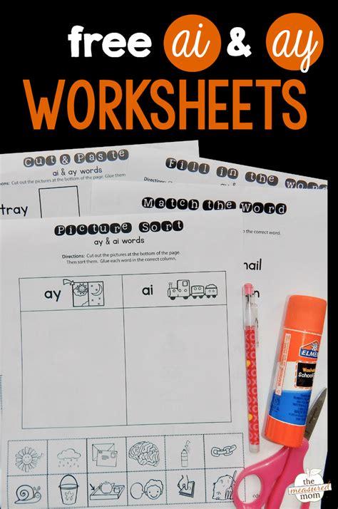 ay ai worksheets  measured mom