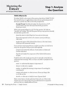 Dbq essay example ap world history for Dbq essay outline template