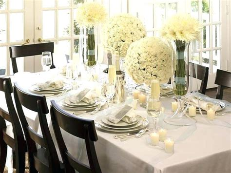terrific flower centerpieces for dining table decorating table decorations party elegant dinner party decor idea