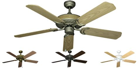 52 inch atlantis outdoor ceiling fan abs plastic blades