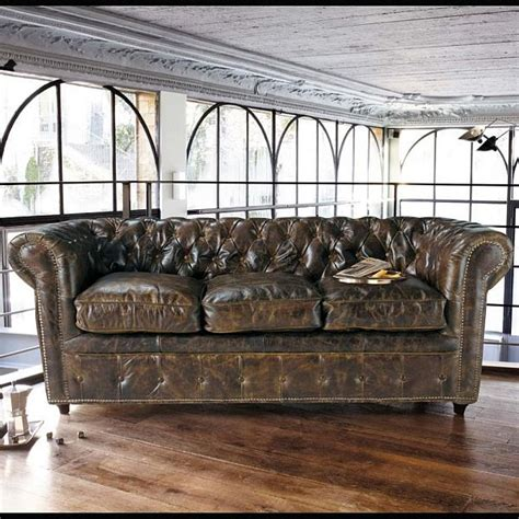 sofa vintage look vintage style leather sofas could add to the retro look